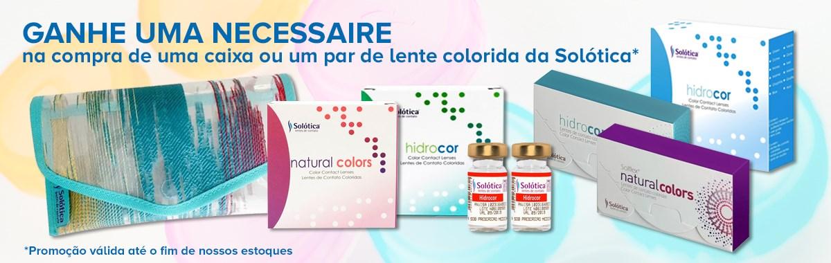 Necessaire Solótica - LentesDeContato.com.br