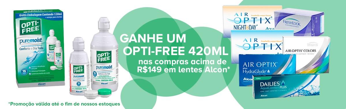 Promo Opti-free - LentesDeContato.com.br