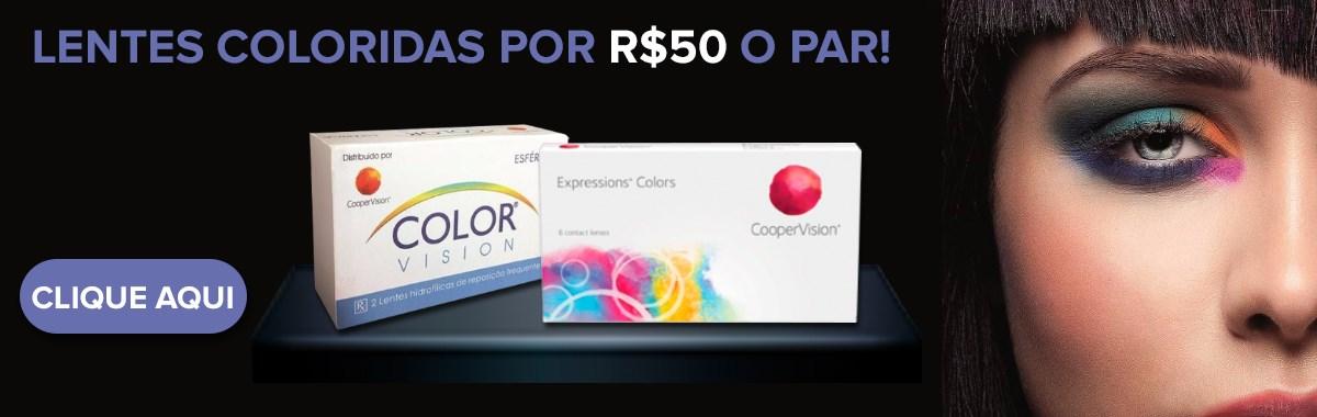 Lentes coloridas Cooper - LentesDeContato.com.br