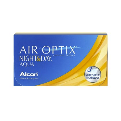 Lentes de Contato AIR OPTIX NIGHT & DAY AQUA