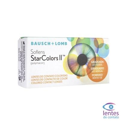 Lentes de Contato SOFLENS STARCOLORS II - COM GRAU
