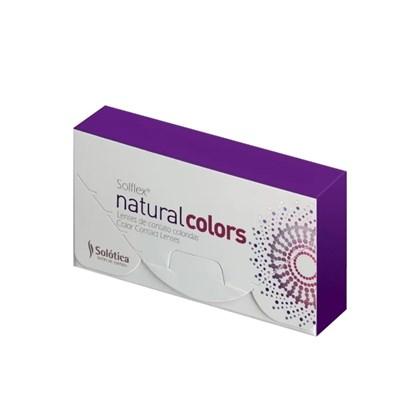 Lentes de Contato SOLFLEX NATURAL COLORS - COM GRAU
