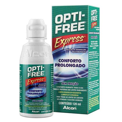 OPTIFREE EXPRESS 120ml - Solução Multiuso